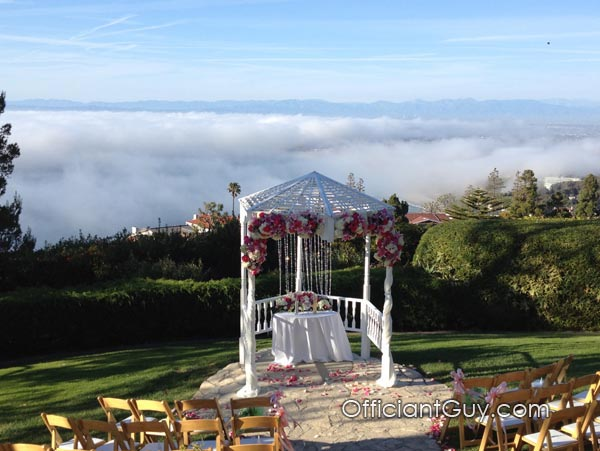 wedding officiants wedding officiant wedding Santa Monica Palisades Park officiate officiant marriage ceremony marriage heart beach