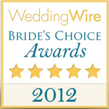 This wedding officiant in Los Angeles was voted The Wedding Wire's Bride's Choice Awards 2012