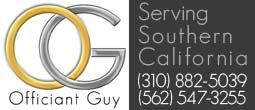 wedding officiant Southern California