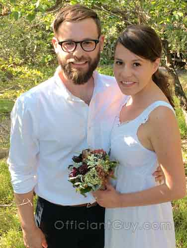 Elopement Packages California Officiant and Marriage License