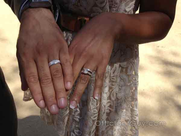 officiant la county marriage orange county, wedding rings