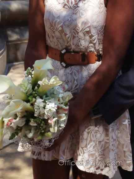 Los Angeles wedding officiant, wedding flowers