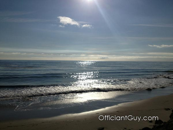 destination wedding,getting married in la, beach wedding, wedding officiant, wedding officiants