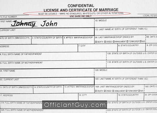 from Valentin california gay marriage license