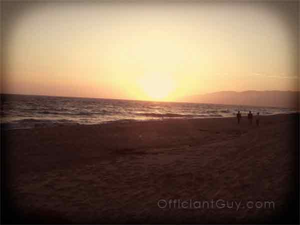 southern california beach wedding taken by a los angeles wedding officiant