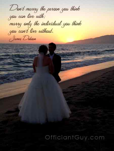 Love Quote - Los Angeles Wedding Officiant for Southern California Marriage