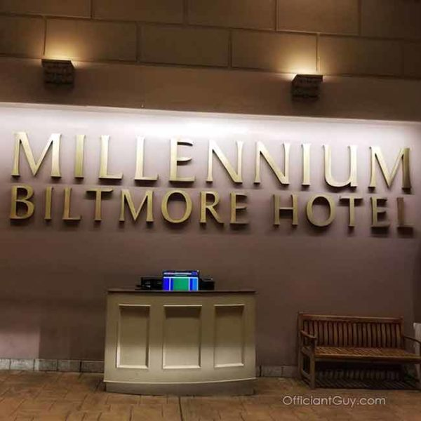 Private Wedding Ceremonies Downtown Los Angeles - Millennium Biltmore Hotel Los Angeles