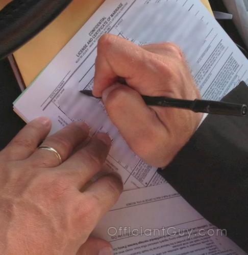 california confidential marriage license