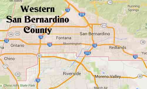 San Bernardino County wedding ceremony