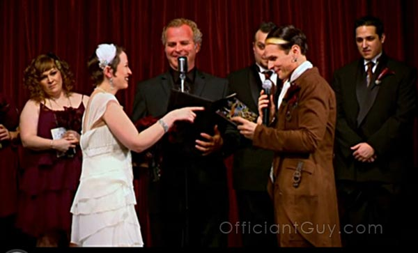 Officiant Guy, a marriage officiant in Los Angeles, was on sToribook weddings
