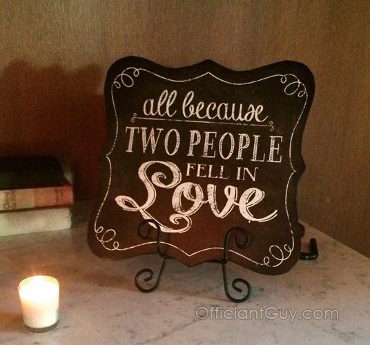 Personalized Wedding Vow Ceremonies